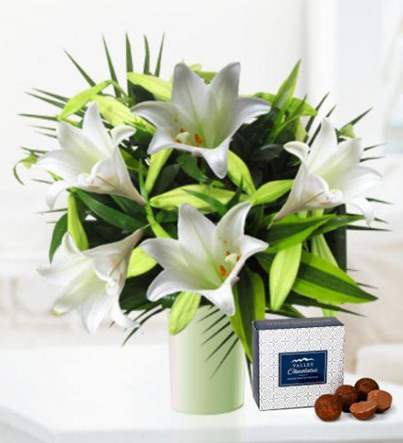 White Lilies - Free Chocs